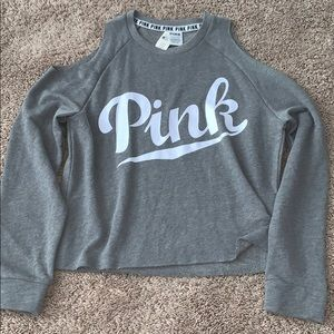 Victoria's Secret PINK Cold Shoulder Sweatshirt